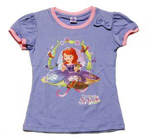 ちいさなプリンセス ソフィア Tシャツ ライトパープル【子供服 6歳 8歳 10歳】