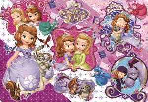60ピース 子供向けパズル ディズニー プリンセス・ソフィアとなかまたち チャイルドパズル