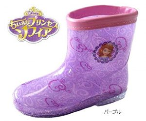 【ちいさなプリンセス ソフィア】レインブーツ 長靴 女の子 下駄箱サイズ