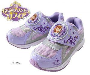 【ちいさなプリンセスソフィア】【ディズニー 靴】 パープル