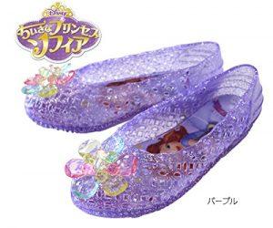 【ちいさなプリンセス ソフィア】 【Disney】 サンダル ガラスの靴