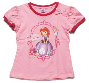Disney(ディズニー)Sofia the First Regular Top ちいさなプリンセス ソフィア Tシャツ ピンク【子供服 6歳 8歳 10歳】
